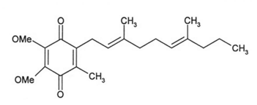 A koenzim Q10 kémiai felépítése