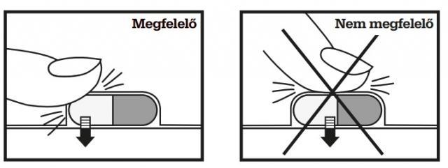 Hogyan szedjük ki a kapszulát megfelelően a bliszter-csomagolásból?