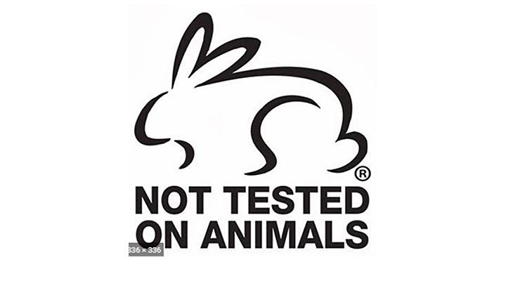 Állatokon nem tesztelt Chili gél, a Not Tested on Animals logó