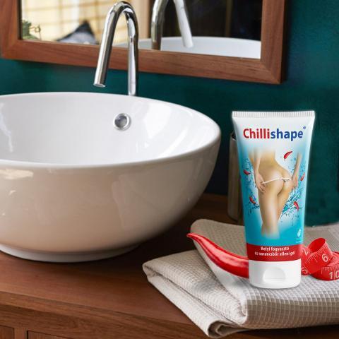 Chillishape® - Helyi zsírpánák és narancsbőr elleni gél